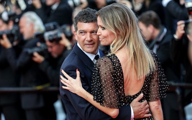Cannes'i lõputseremoonia, Nicole Kimpel ja Antonio Banderas