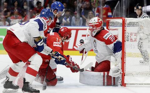 Venemaa - Tšehhi jäähoki MM-il