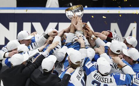 Soome jäähokikoondis MM-tiitliga