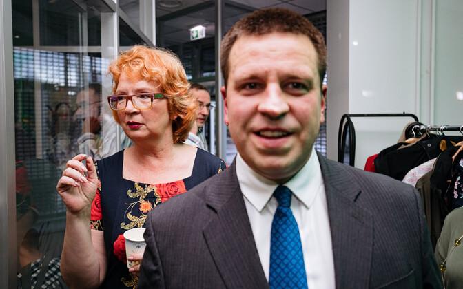 Yana Toom ja Jüri Ratas
