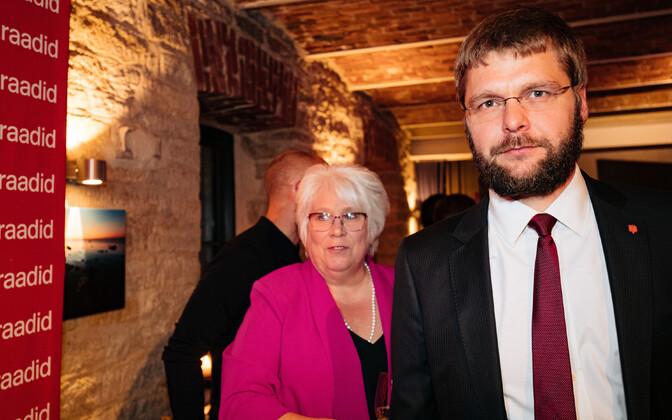 Marina Kaljurand ja Jevgeni Ossinovski