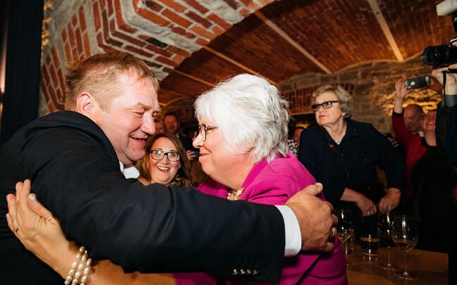 Ivari Padar ja Marina Kaljurand