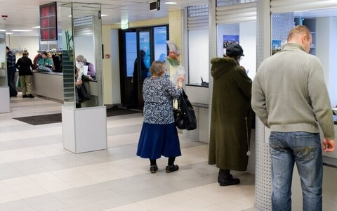 Patient registration at East-Tallinn Central Hospital (ITKH).