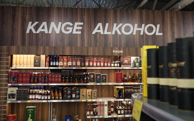 В среднем на одного жителя Эстонии в прошлом году пришлось 3,6 литров крепкого алкоголя.