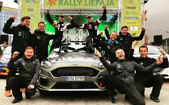ERC Junior võitjad Ken Torn ja Kauri Pannas