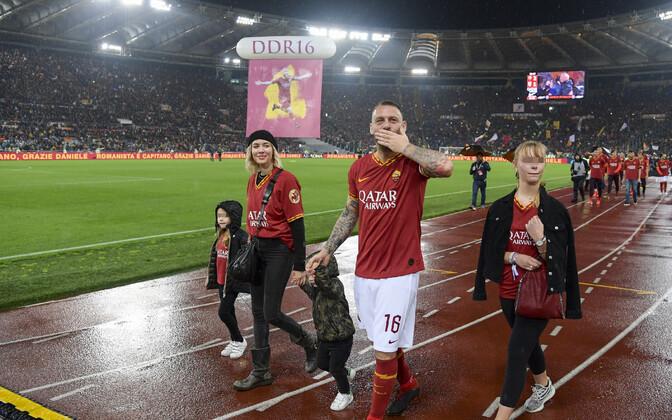 Daniele De Rossi peale viimast mängu Romas