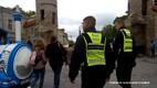 Tallinna munitsipaalpolitsei korrakaitsjad patrullimas.