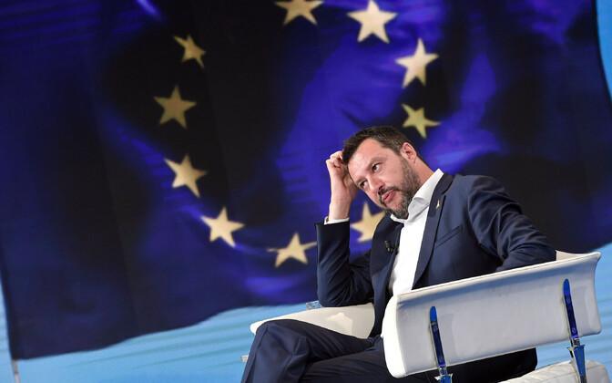 Itaalia asepeaminister Matteo Salvini.