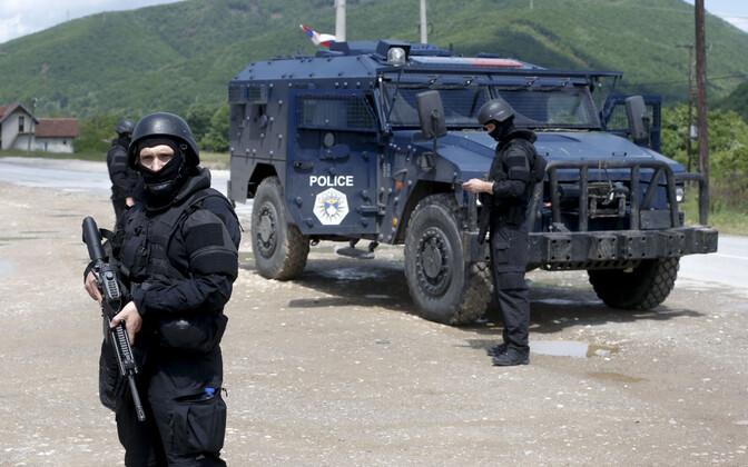 Полиция Косово.