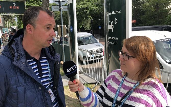 Eesti Tennise Liidu peasekretär Allar Hint.