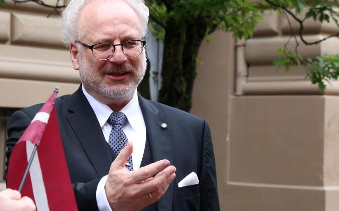 Новым президентом Латвии стал Эгил Левитс.