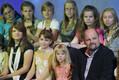 Laulja Jassi Zahharov laste lauluvõistluse kuuendas saates ETV stuudios. 2008