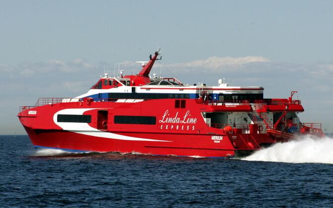 Lindaliini laev merel.