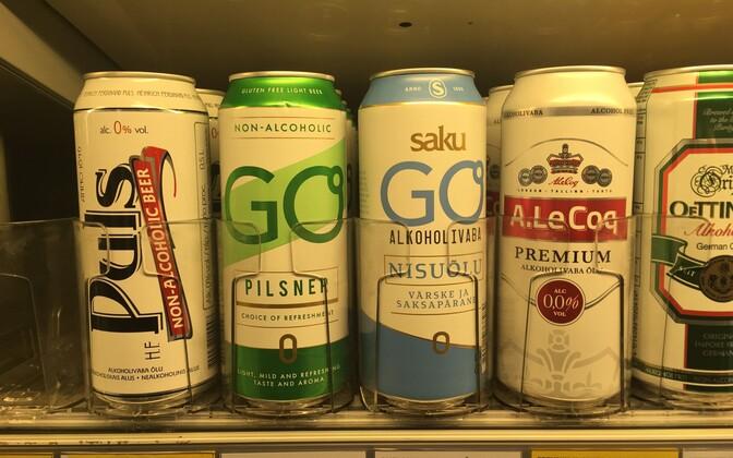 Доля рынка безалкогольного пива в Эстонии составляет около трех процентов.