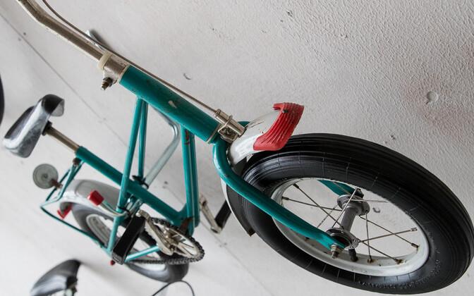 Детский велосипед. Иллюстративная фотография.