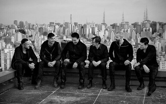 Members of Rammstein.