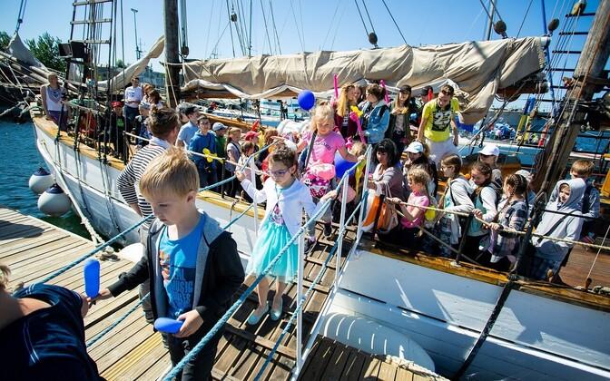 День защиты детей в Летной гавани в 2018 г.