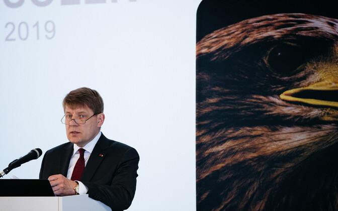Kaubandus-tööstuskoja üldkoosolek, Toomas Luman.