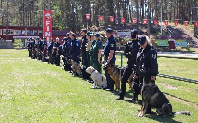 Соревнования служебных собак последний раз проходили в 2017 году в Пярнумаа.