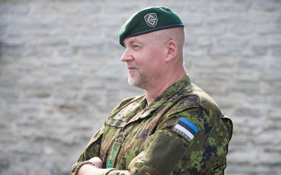 Генерал Рихо Юхтеги возглавляет Кайтселийт.