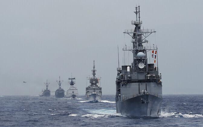 Taiwani mereväe õppus.