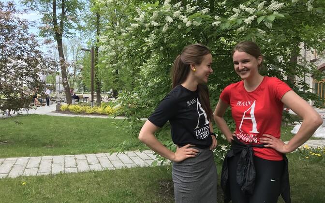 Prügiblogi peavad Triin Killing (vasakul) ja Marilind Reemann.