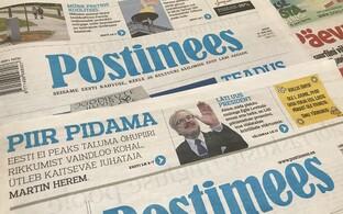6bf44cd64fc Postimehe tiraaž langes esmakordselt alla 40 000 | Eesti | ERR