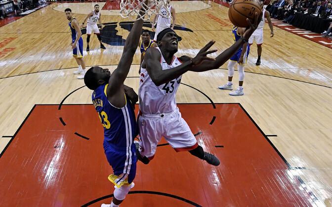Toronto Raptorsi resultatiivseim oli Pascal Siakam