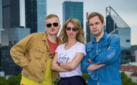 Bert Järvet, Katrin Aarma ja Margus Kamlat