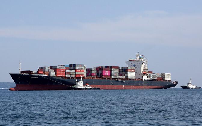 Kanada poole teele asunud laev.