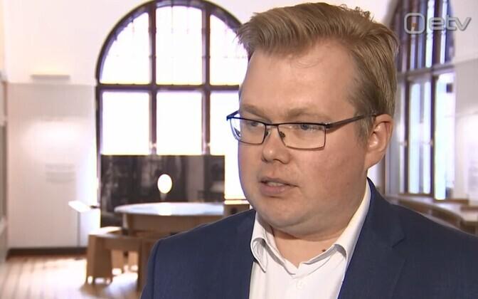 Экономист Банка Эстонии Каспар Оя.