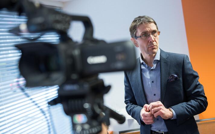 Главный экономист Swedbank Тыну Мертсина.