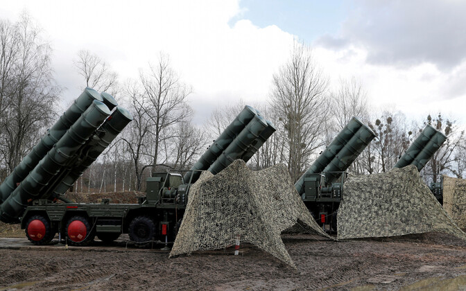 S-400 systems in place in the Kaliningrad exclave of the Russian Federation.