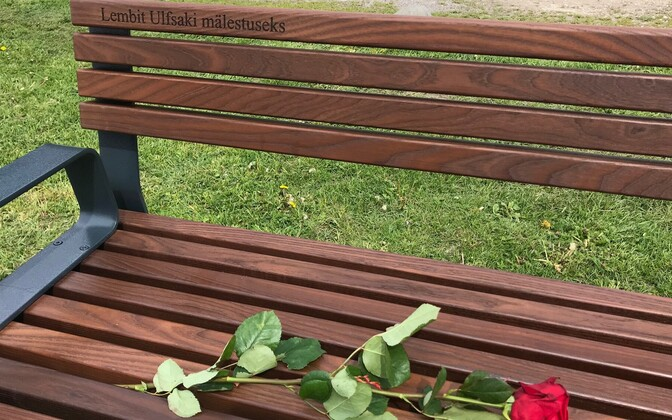 Lembit Ulfsaki mälestuspink