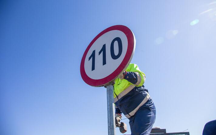 Tüüpiliselt suudava inimesed valida ise sujuvaima liikluse tagava piirkiiruse.