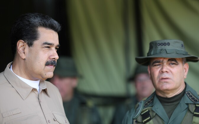 President Nicolas Maduro ja kaitseminister Vladimir Padrino.