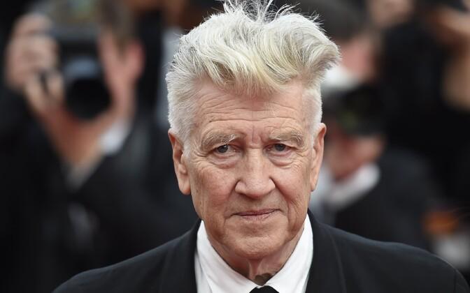 David Lynch 70. Cannes'i filmifestivalil.