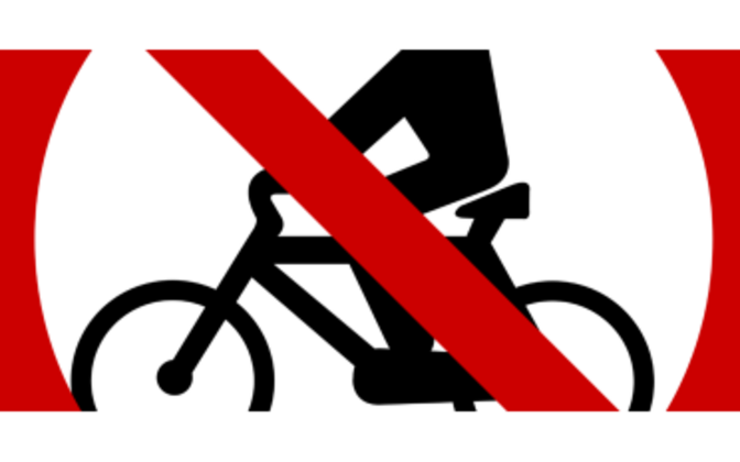 Taking bicycles on board Elron trains is to be restricted throughout summer.