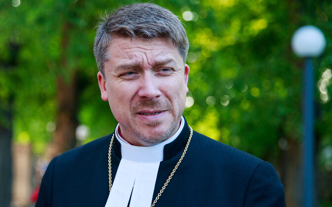 Archbishop Urmas Viilma of the EELK.