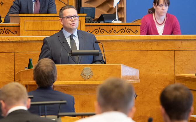 Riigikohtu esimees Villu Kõve.