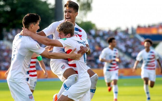 USA U-20 koondis alistas Prantsusmaa