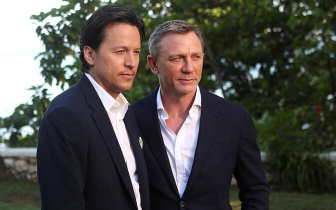Uue Bondi filmi režissöör Joji Fukunaga ja näitleja Daniel Craig