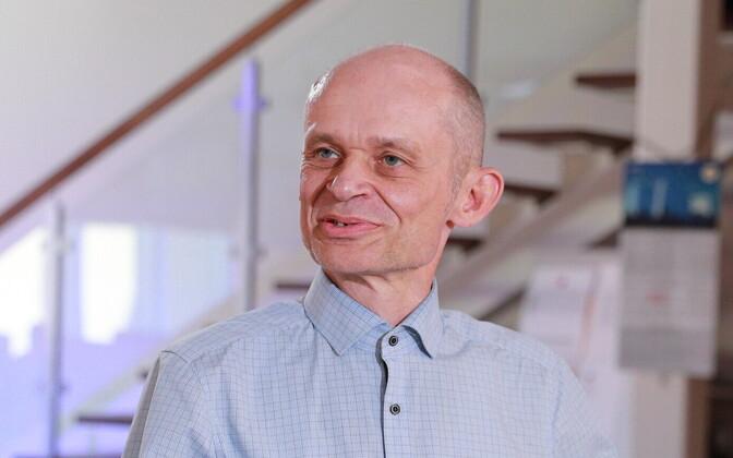Äripäev chief Igor Rõtov.