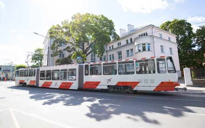 По мнению Таави Ааса, на Раэском направлении трамваи были бы гарантированно заполнены утром и вечером. Иллюстративная фотография.