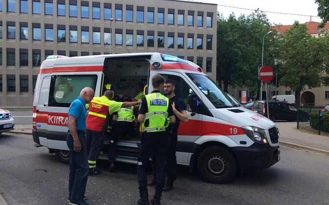 Авария возле Полицейского парка.