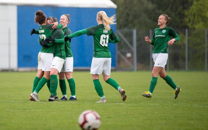 d4d992b4a98 Flora lõi Sakule viis väravat, Pärnu võitis kaotusseisust | Jalgpall ...