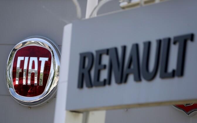Fiat ja Renault.