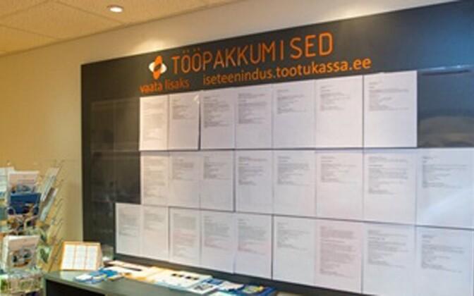 В Эстонии по-прежнему более 10 000 вакансий.