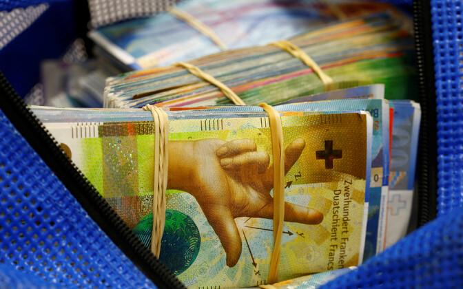 Šveitsi frangid.