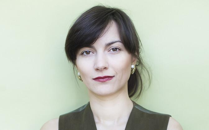 Estonian Greens chairwoman Züleyxa Izmailova.